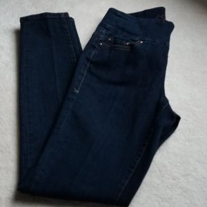 JAG jeans size 27W pull on high rise